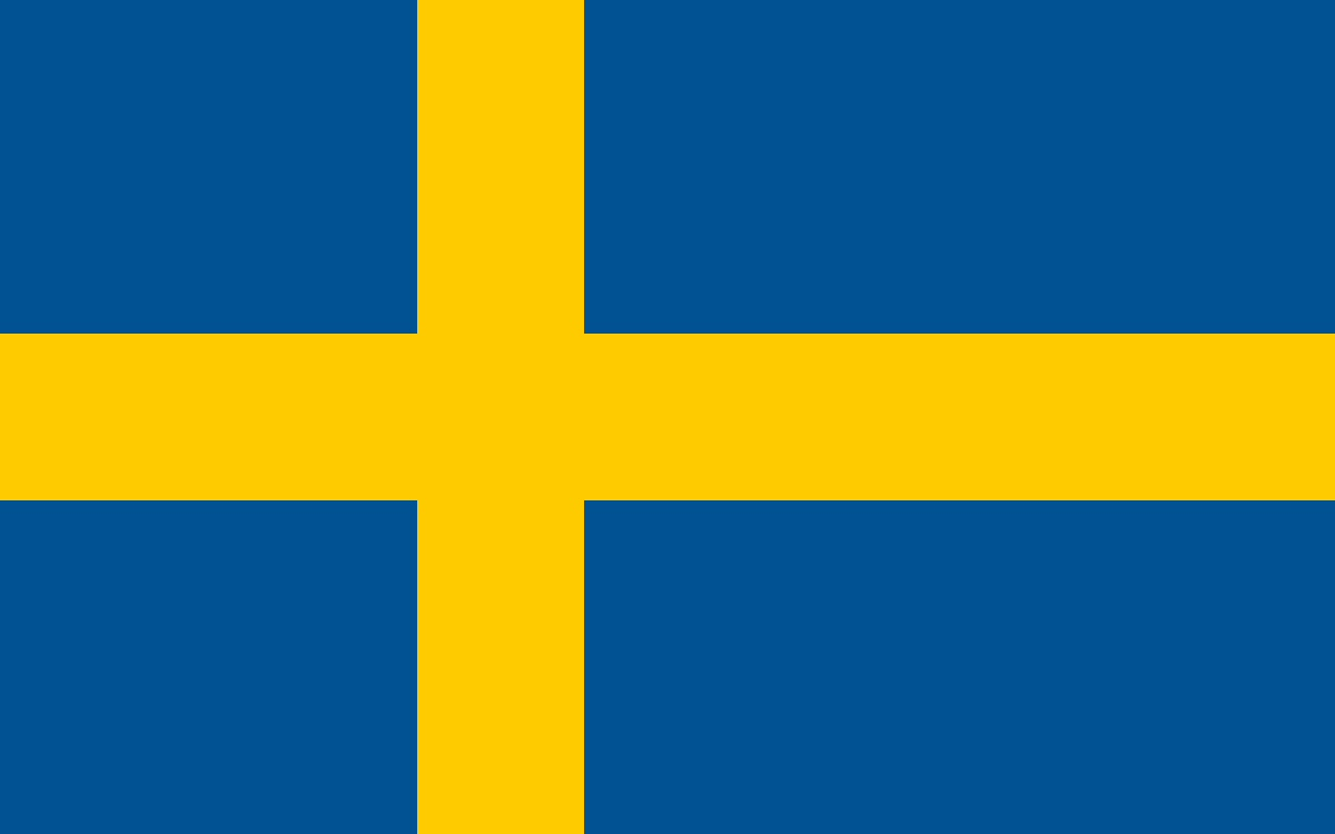 Swedish flag large